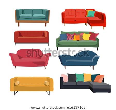 sofa interior design collection