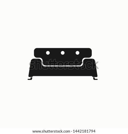 Sofa vector Icon. Sofa Vector illustration