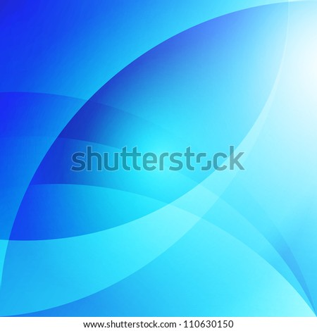 Soft Abstract Background - Blue