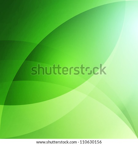 Soft Abstract Background - Green