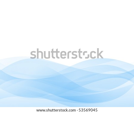Soft blue abstract background