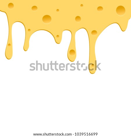 Soft cheese. Vector illustration
