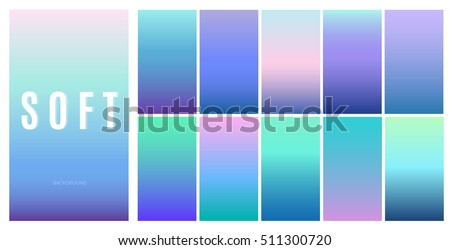 soft color background design