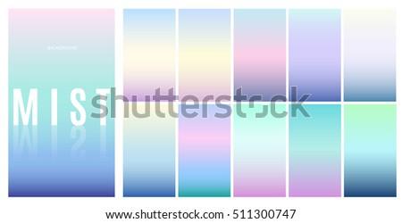 soft color background design