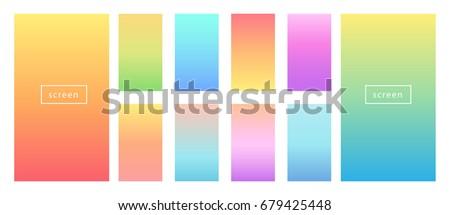 soft color background modern
