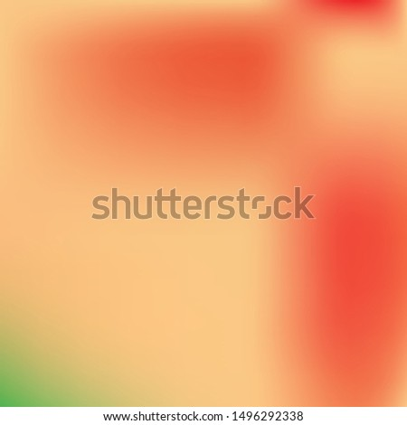 Soft color gradient background. Colorful backdrop with simple muffled colors. Vector illustration art. Pink colored, natural screen design for user interface or mobile app.