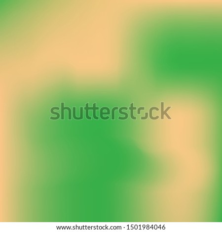 Soft color gradient background. Colorful backdrop with simple muffled colors. Vector illustration vintage. Green colored, natural screen design for user interface or mobile app.