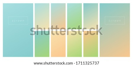 soft color gradient background