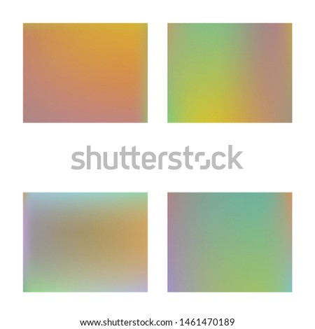 Soft color gradient background. Simple backdrop with simple muffled colors. Vector illustration vintage. Orange colored, natural screen design for user interface or mobile app.