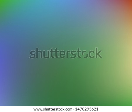 Soft color gradient background. Simple backdrop with simple muffled colors. Vector illustration theme. Green colored, natural screen design for user interface or mobile app.