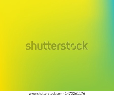 Soft color gradient background. Simple backdrop with simple muffled colors. Vector illustration texture. Yellow colored, natural screen design for user interface or mobile app.