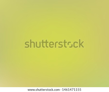 Soft color gradient background. Vector illustration art. Simple backdrop with simple muffled colors. Yellow colored, natural screen design for user interface or mobile app.