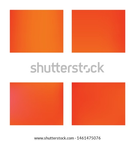 Soft color gradient background. Vector illustration elements. Simple backdrop with simple muffled colors. Red colored, natural screen design for user interface or mobile app.
