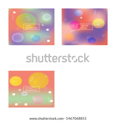 Soft color gradient background. Vector illustration space. Simple backdrop with simple muffled colors. Orange colored, natural screen design for user interface or mobile app.