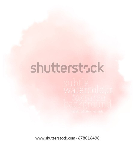 soft coral pink watercolor