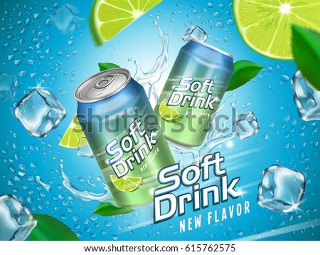 soft drink contained in
