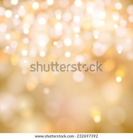 soft golden christmas lights