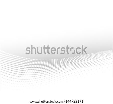 soft halftone background  wavy