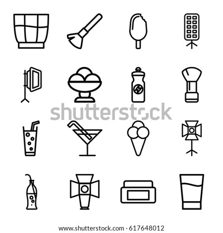 soft icons set set of 16 soft