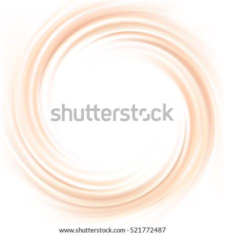 soft light milky ecru color