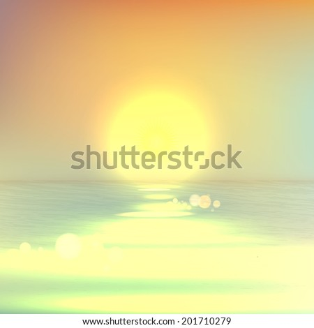 soft light summer background