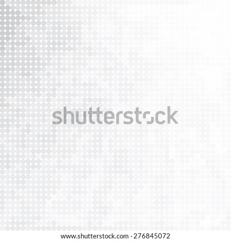 Soft minimal halftone background with gray dotted design concept