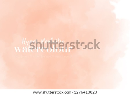 soft pastel wallpaper. coral splash. trendy gradient background. fluid vector graphic. eps