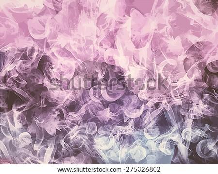 soft pink smoke background