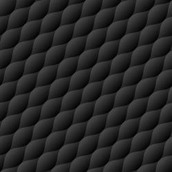 Soft quilt seamless pattern. Neutral black diagonal tileable vector background.