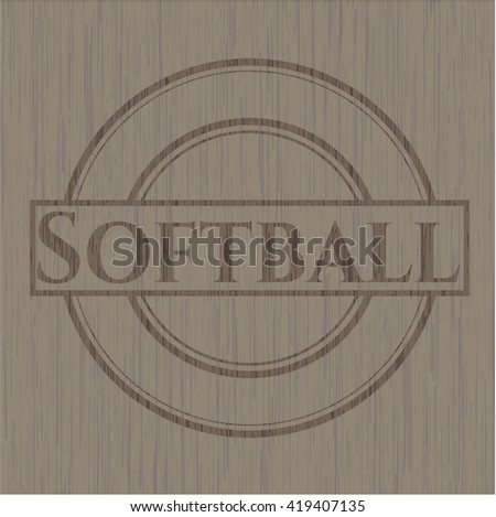 Softball wood signboards