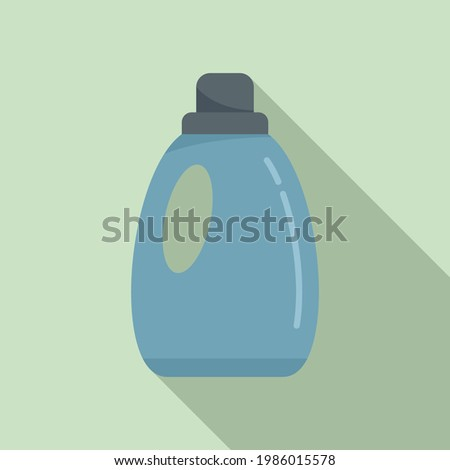Softener fabric icon. Flat illustration of Softener fabric vector icon for web design Foto stock ©