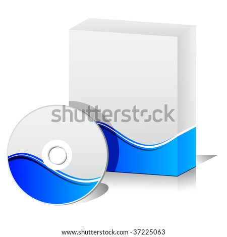 Software box stock vector illustration 37225063 shutterstock Vector image software