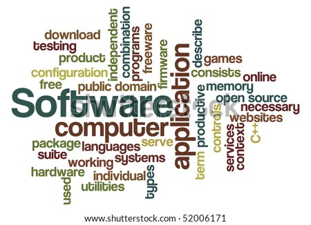 Software - Word Cloud