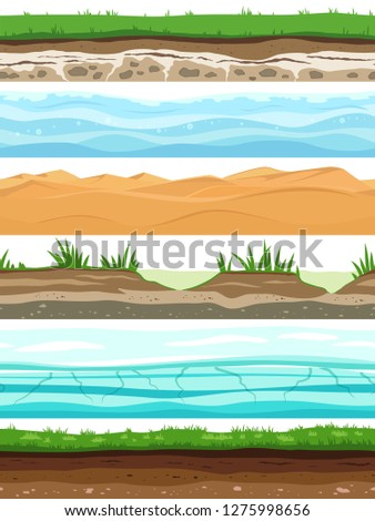 soil layers campo ground