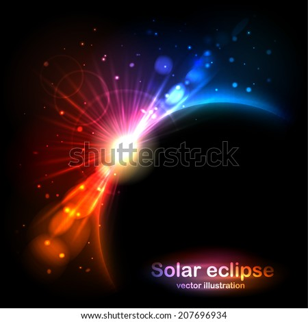 solar eclipse radiance and