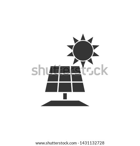 solar panel Glyph icon template black color editable. solar panel Glyph symbol Flat vector sign isolated on white background. Simple logo vector illustration for graphic and web design.