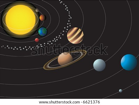 nine planets solar system