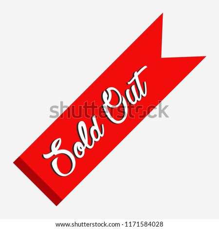 Sold Out Flag