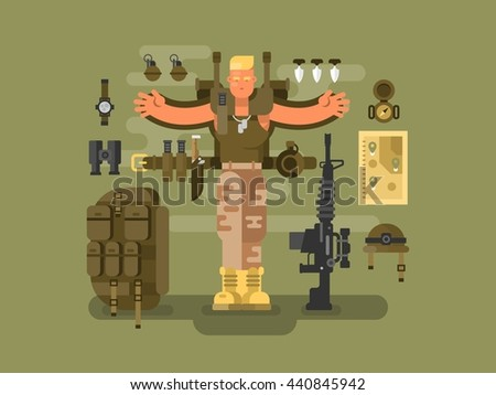 soldier and ammunition design