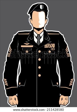 soldier hero vector