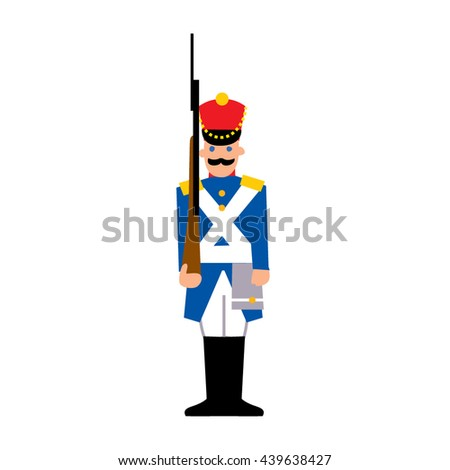 soldier toy color soldier icon