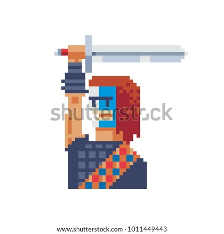 soldier with sword country