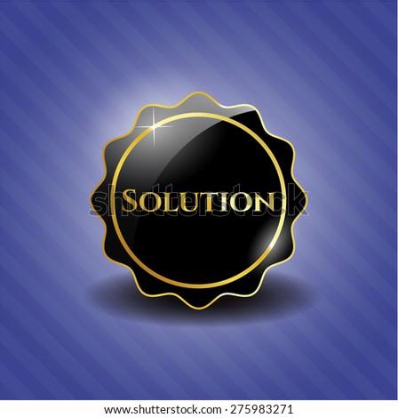 Solution black badge