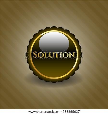 Solution shiny badge
