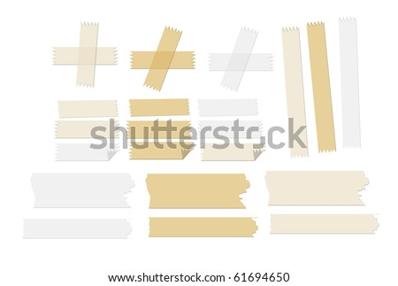 some adhesive tapes that in epsv10, transparency is used so the tapes will look overlapping the subject.