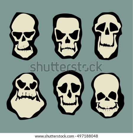 some skull characters and