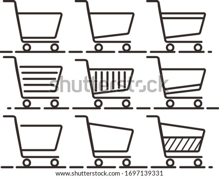 some trolly icons that can be used for projects