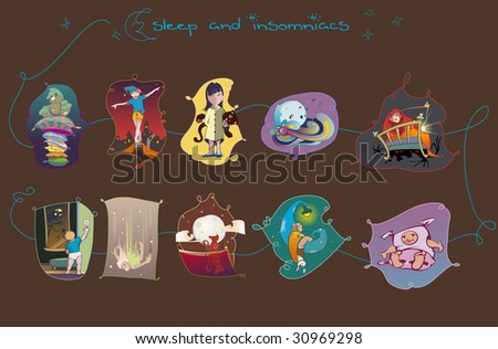 Some vectors about sleeping