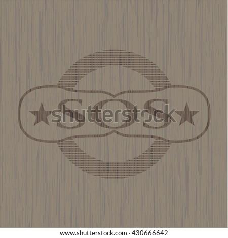 SOS wood signboards