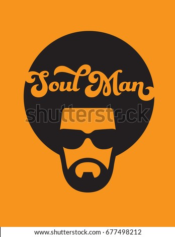 soul man retro illustration